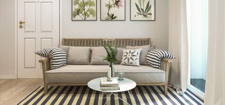 Thiết kế nội thất chung cư 58m2 - chị hương