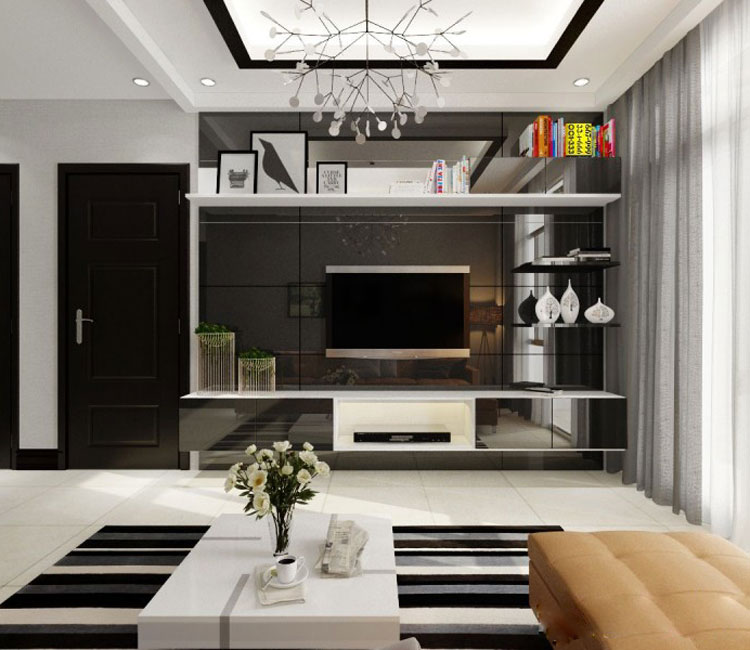 Thiết kế nội thất chung cư 115m2 chị Hảo 1