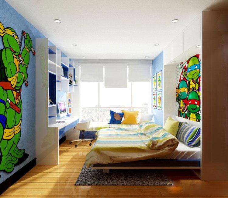 Thiết kế nội thất chung cư 115m2 chị Hảo 10