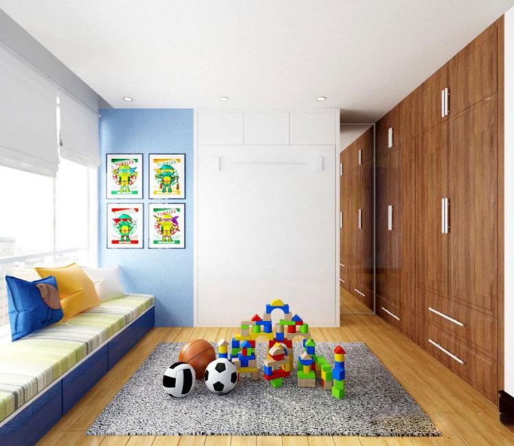 Thiết kế nội thất chung cư 115m2 chị Hảo 11
