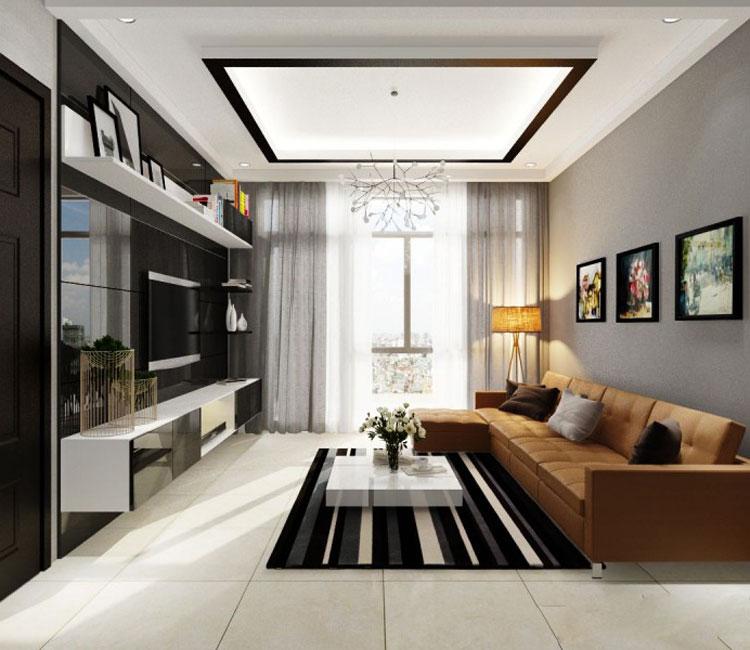 Thiết kế nội thất chung cư 115m2 chị Hảo 15