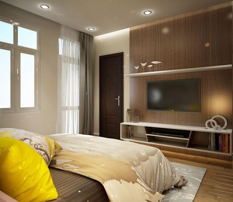 Thiết kế nội thất chung cư 115m2 chị Hảo 6