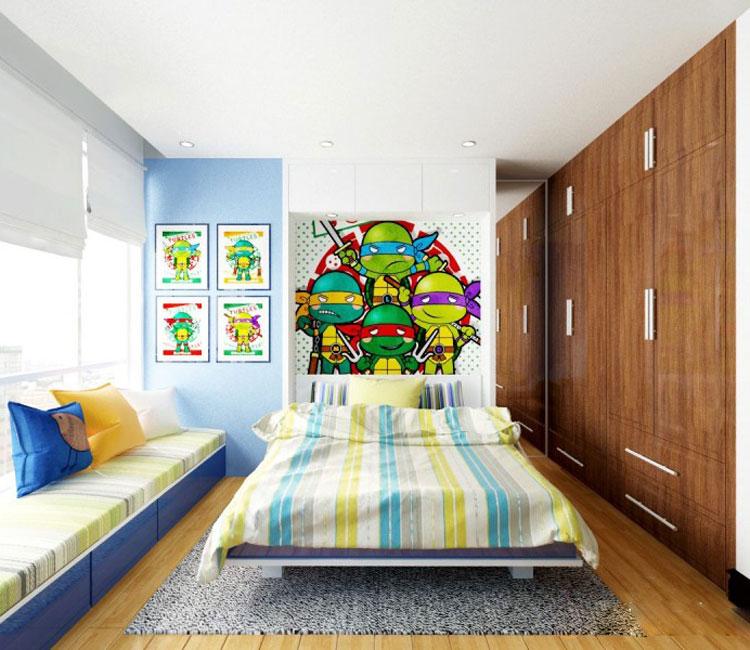 Thiết kế nội thất chung cư 115m2 chị Hảo 9