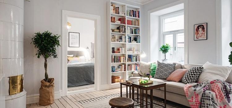 Thiết kế nội thất chung cư 45m2 - chị Ngọc 11