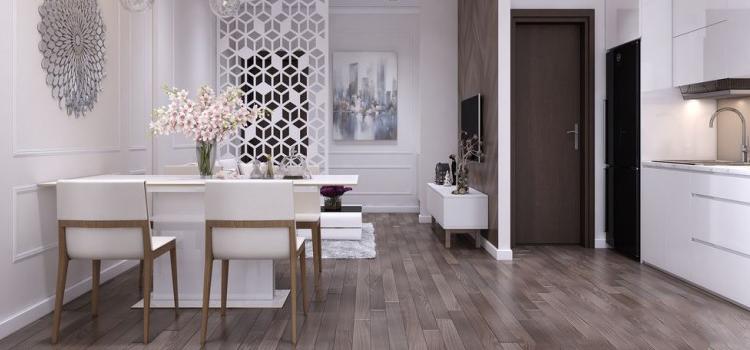 thiết kế nội thất chung cư 48m2 chị Trang 10