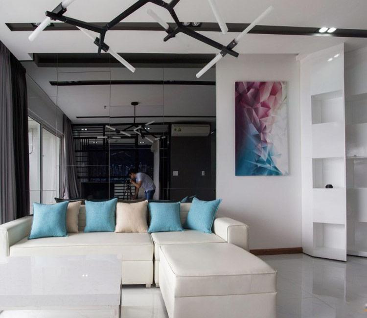 thiết kế nội thất chung cư 50m2 - anh Lâm 10