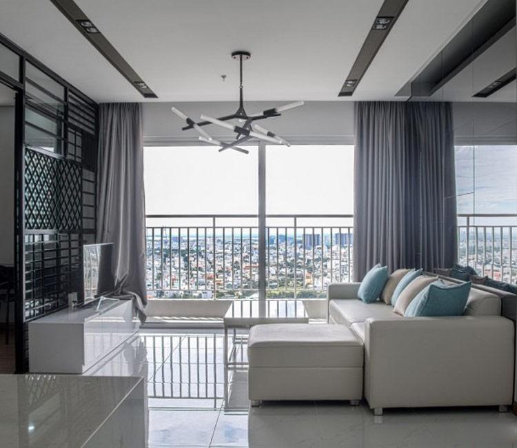 thiết kế nội thất chung cư 50m2 - anh Lâm 11