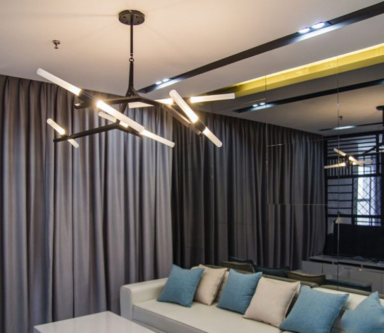 thiết kế nội thất chung cư 50m2 - anh Lâm 12