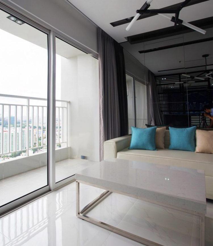 thiết kế nội thất chung cư 50m2 - anh Lâm 14