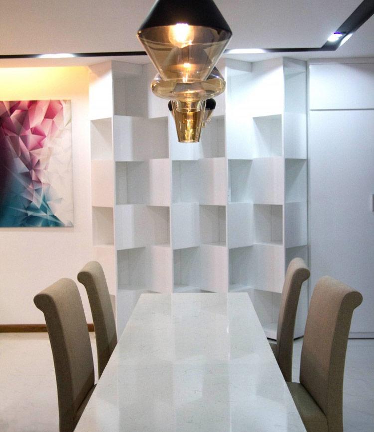 thiết kế nội thất chung cư 50m2 - anh Lâm 3