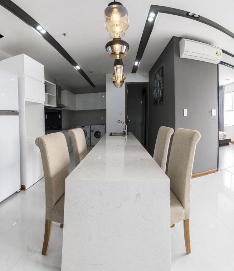 thiết kế nội thất chung cư 50m2 - anh Lâm 4