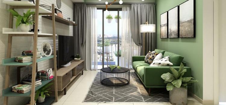 Thiết kế nội thất chung cư 64m2 - chị Linh An 14