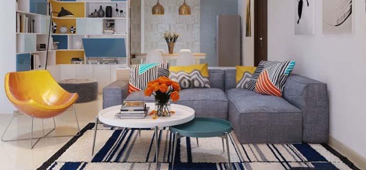 Thiết kế nội thất chung cư 89m2 - anh Hùng