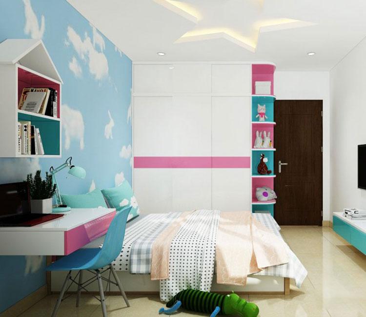 Thiết kế nội thất chung cư 89m2 - anh Hùng 8