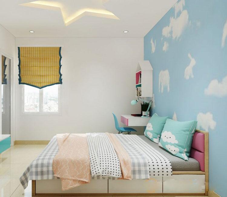 Thiết kế nội thất chung cư 89m2 - anh Hùng 9