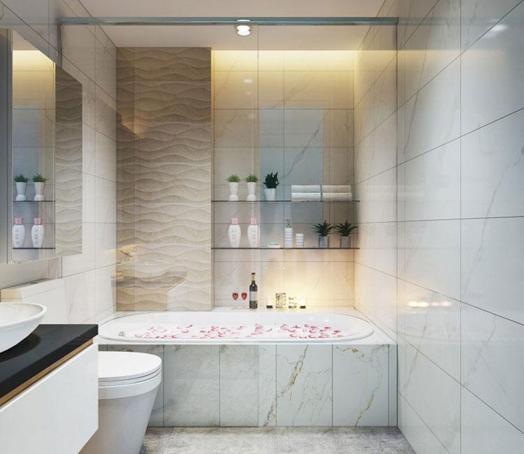Thiết kế nội thất chung cư 89m2 - anh Hùng 10