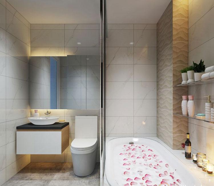 Thiết kế nội thất chung cư 89m2 - anh Hùng 11