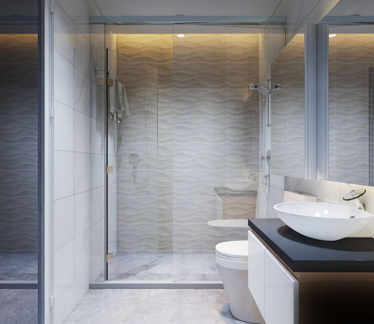 Thiết kế nội thất chung cư 89m2 - anh Hùng 12