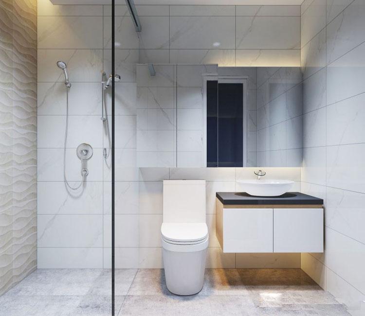 Thiết kế nội thất chung cư 89m2 - anh Hùng 13