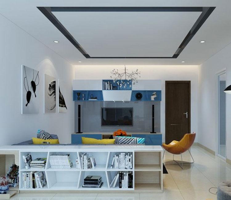 Thiết kế nội thất chung cư 89m2 - anh Hùng 16