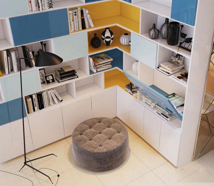 Thiết kế nội thất chung cư 89m2 - anh Hùng 20