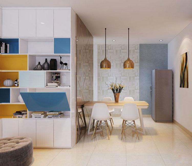 Thiết kế nội thất chung cư 89m2 - anh Hùng 21