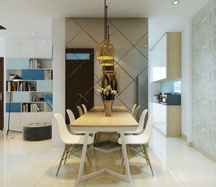 Thiết kế nội thất chung cư 89m2 - anh Hùng 1