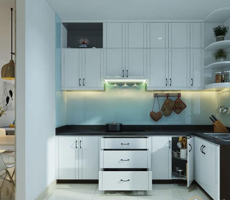 Thiết kế nội thất chung cư 89m2 - anh Hùng 2