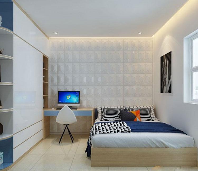 Thiết kế nội thất chung cư 89m2 - anh Hùng 4