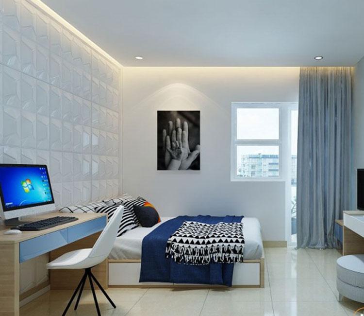 Thiết kế nội thất chung cư 89m2 - anh Hùng 6