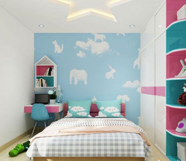 Thiết kế nội thất chung cư 89m2 - anh Hùng 7
