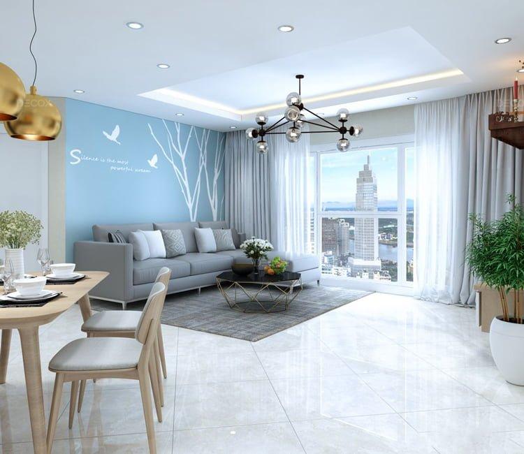 Thiết kế nội thất chung cư Văn Khê - anh Bình 20