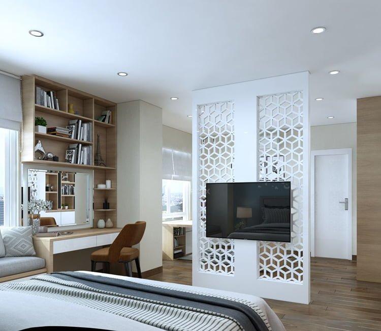 Thiết kế nội thất chung cư Văn Khê - anh Bình 6