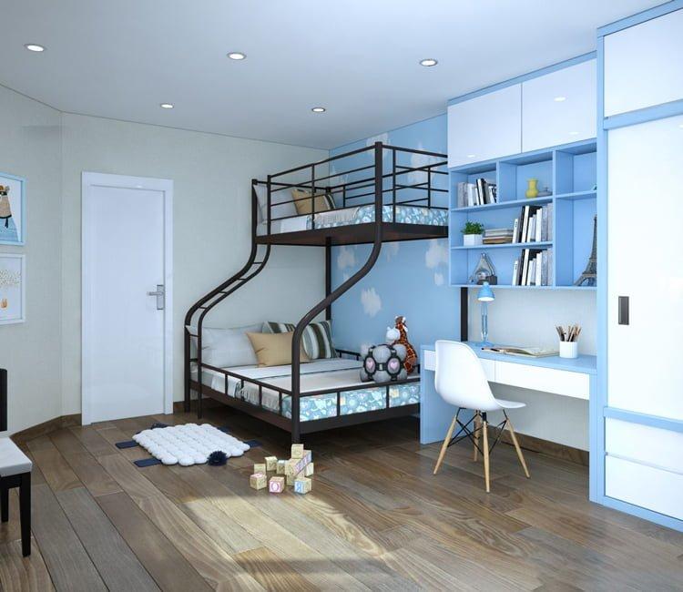 Thiết kế nội thất chung cư Văn Khê - anh Bình 10