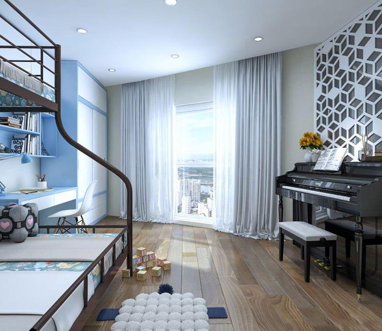 Thiết kế nội thất chung cư Văn Khê - anh Bình 11