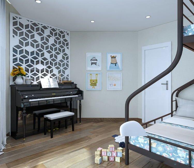 Thiết kế nội thất chung cư Văn Khê - anh Bình 12