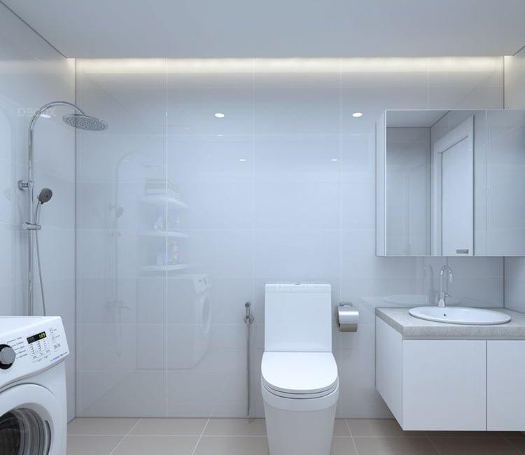 Thiết kế nội thất chung cư Văn Khê - anh Bình 13