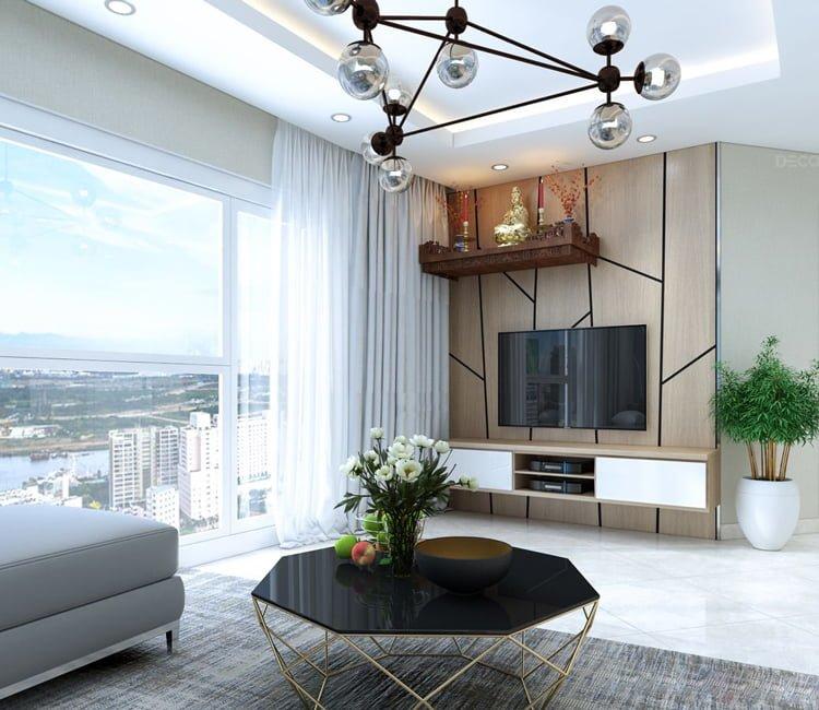 Thiết kế nội thất chung cư Văn Khê - anh Bình 17