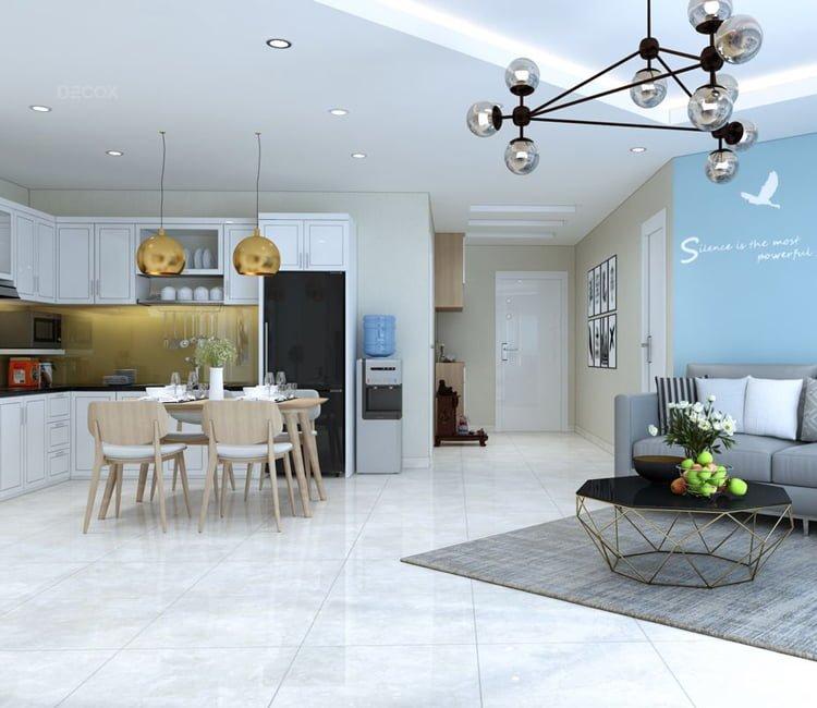 Thiết kế nội thất chung cư Văn Khê - anh Bình 18
