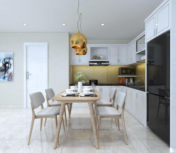Thiết kế nội thất chung cư Văn Khê - anh Bình 23