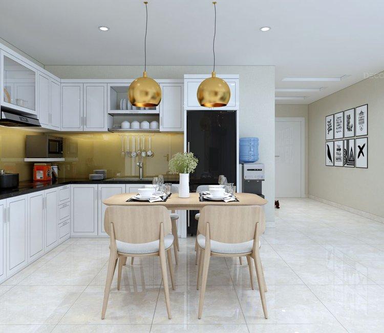 Thiết kế nội thất chung cư Văn Khê - anh Bình 1