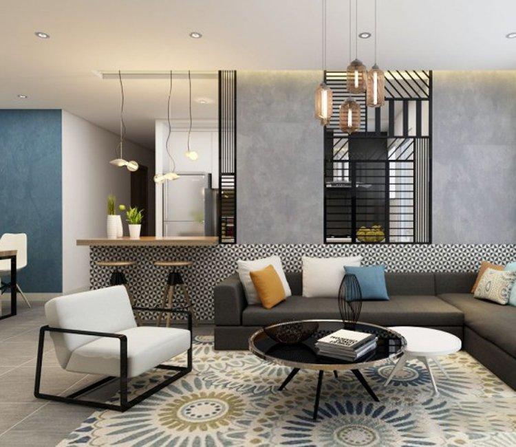 Thiết kế nội thất chung cư 110m2 The Garden - anh Phú 6