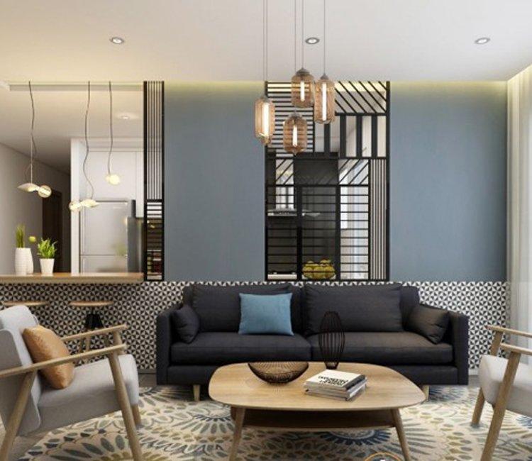 Thiết kế nội thất chung cư 110m2 The Garden - anh Phú 8