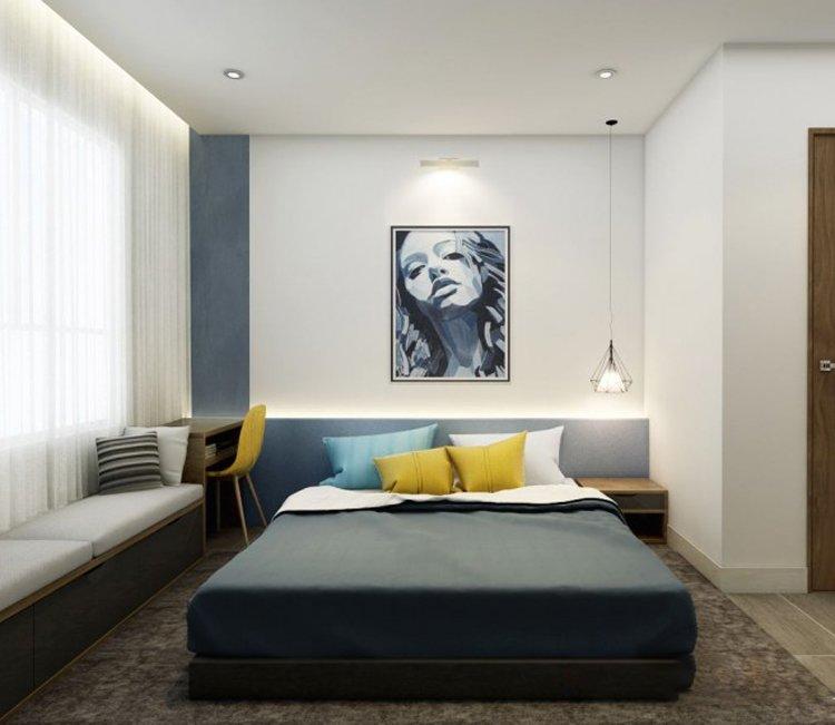 Thiết kế nội thất chung cư 110m2 The Garden - anh Phú 9