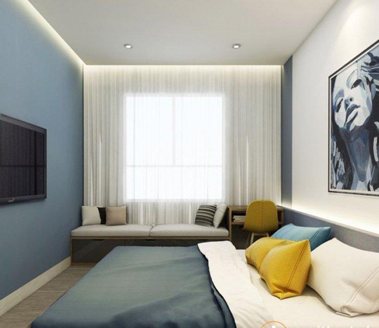 Thiết kế nội thất chung cư 110m2 The Garden - anh Phú 10