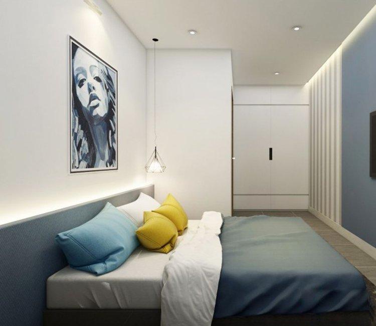 Thiết kế nội thất chung cư 110m2 The Garden - anh Phú 11