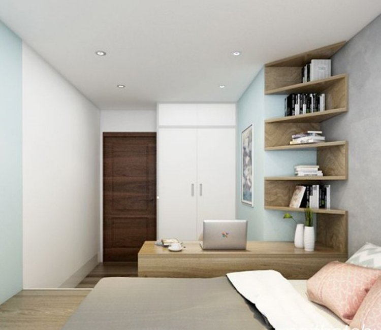 Thiết kế nội thất chung cư 110m2 The Garden - anh Phú 13