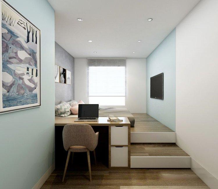 Thiết kế nội thất chung cư 110m2 The Garden - anh Phú 14