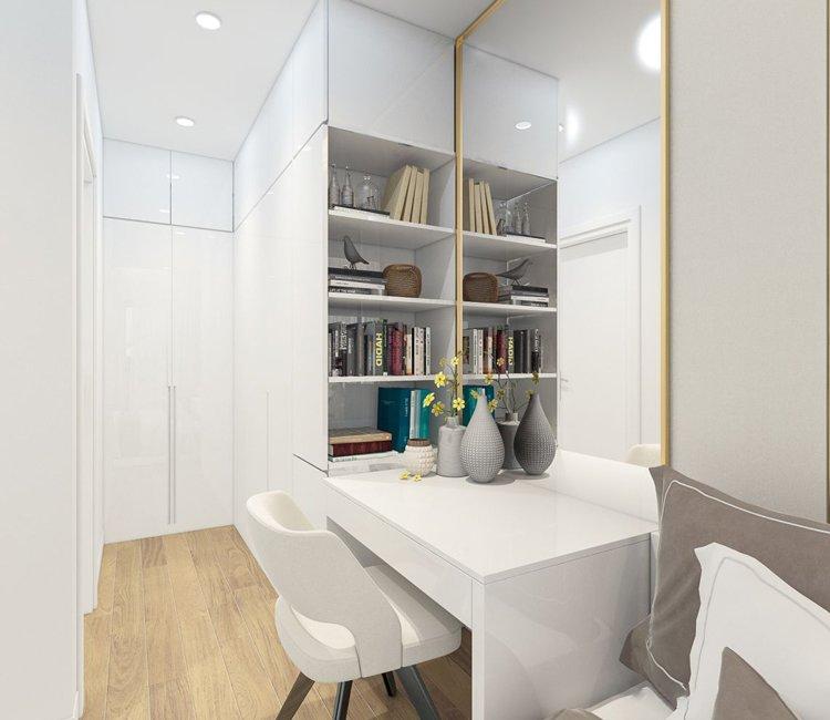 Thiết kế nội thất chung cư 65m2 Trung Hòa Nhân Chính - anh Cường 9