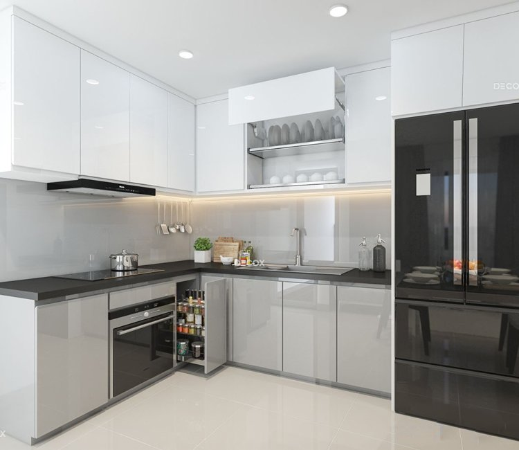 Thiết kế nội thất chung cư 65m2 Trung Hòa Nhân Chính - anh Cường 18